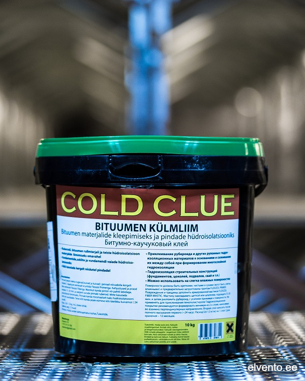 Bituminous mastic - Den Bit L Cold adhesive